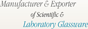 GLASTRON Manufacturer & Exporter of Scientific & Laboratory Glassware